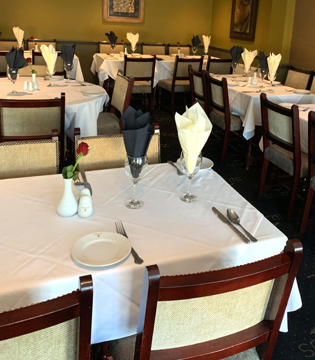 Traditional Indian Cuisine at Zaras Indian Restaurant